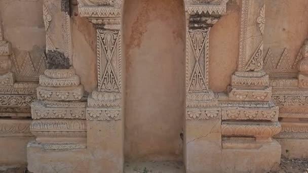 bílý chrám v bagan
