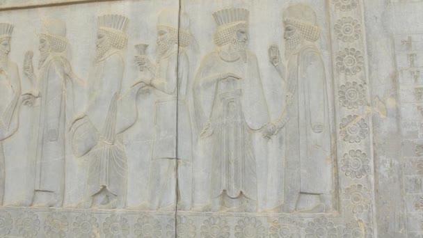 Perský šlechticů úlevu detail Persepolis