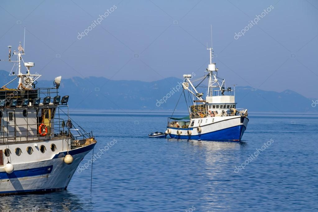Fishing boat coming