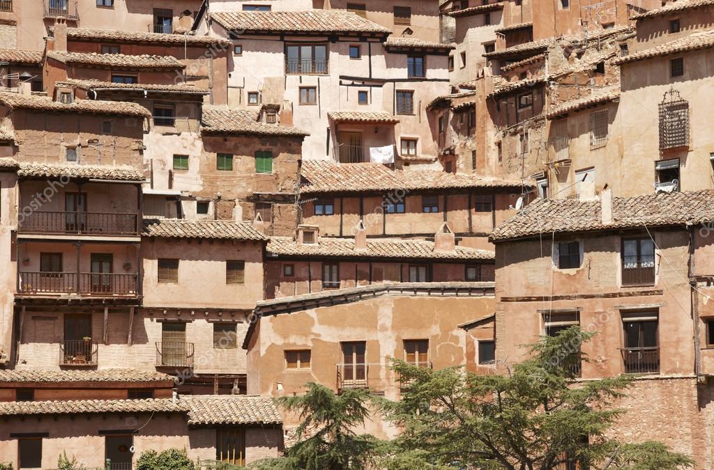 Pueblo pintoresco en espa a casas antiguas albarracin - Casas gratis en pueblos de espana ...