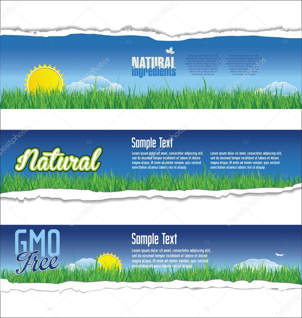 Ecology natural background