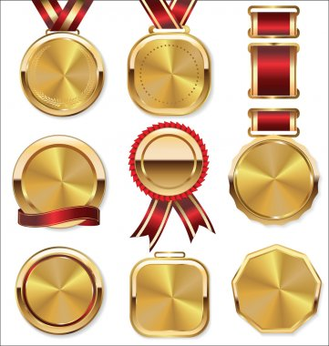 Collection of Golden medals