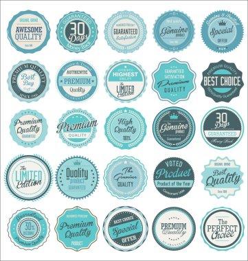 Premium quality labels collection