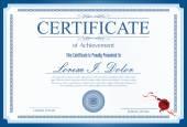 Fotografie Certifikát, diplom dokončení