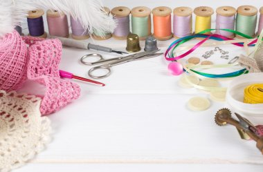 Set for sewing, knitting and needlework