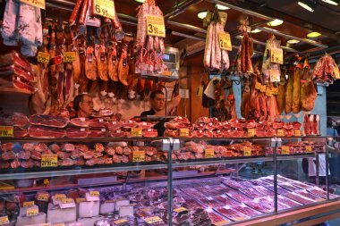 Barcelona Meat Stall