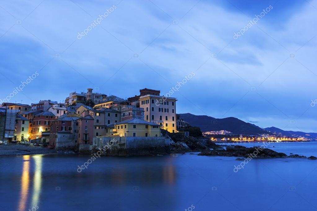 Boccadasse - old neighbourhood of the Italian city of Genoa
