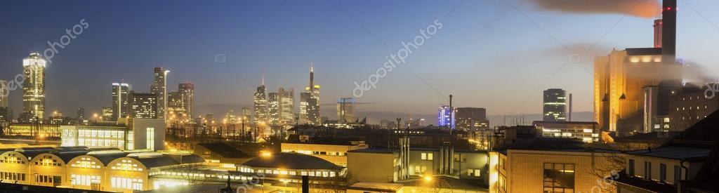 Morgen Frankfurt frankfurt am deutschland am morgen stockfoto prosiaczeq