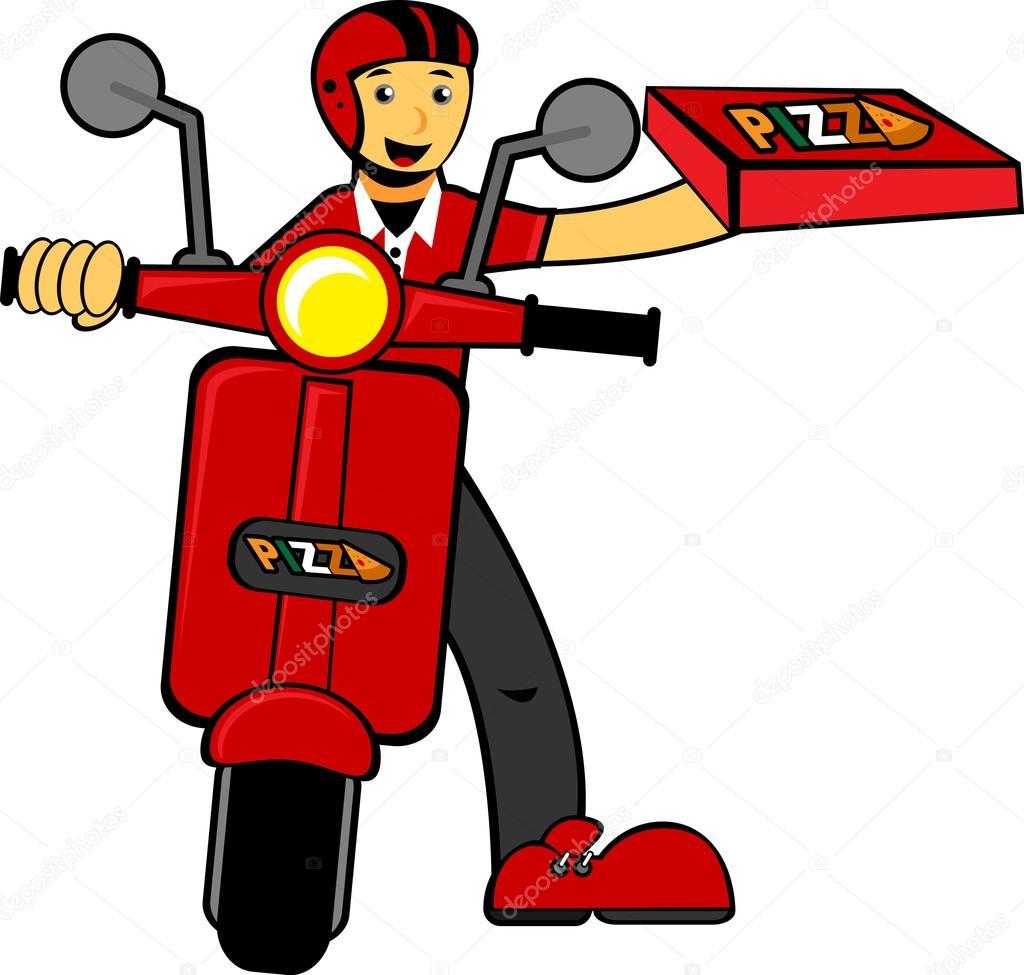 ilustraci u00f3n del hombre entrega traer pizza archivo pizza vector art pizza vectoriel