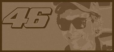 Valentino Rossi 46 vintage