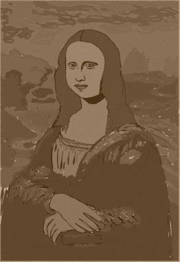 Mona Lisa vintage