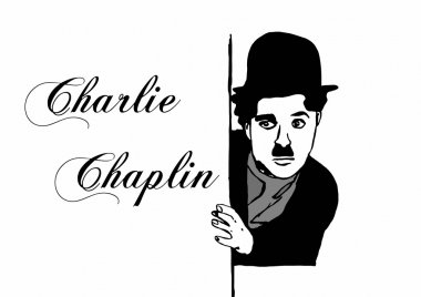 Charlie Chaplin writing