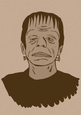 Frankenstein icon vintage
