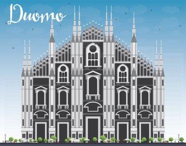 Duomo. Milan. Italy. Vector Illustration.