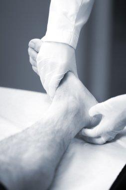 Doctor patient medical examination