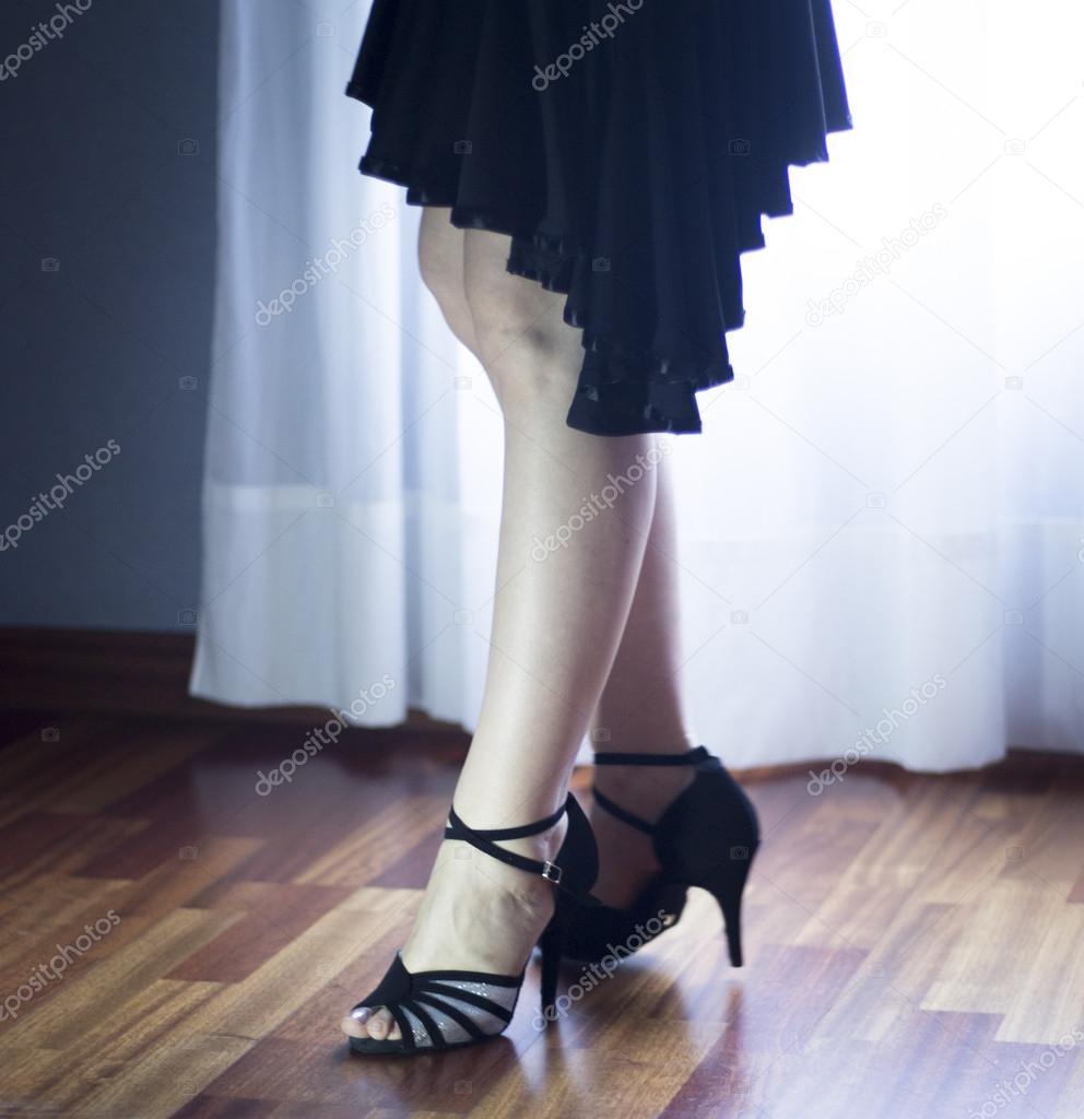 Ballroom dance latin dancer