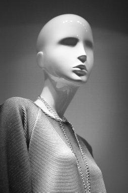 Shop dummy fashion clothes store mannequin