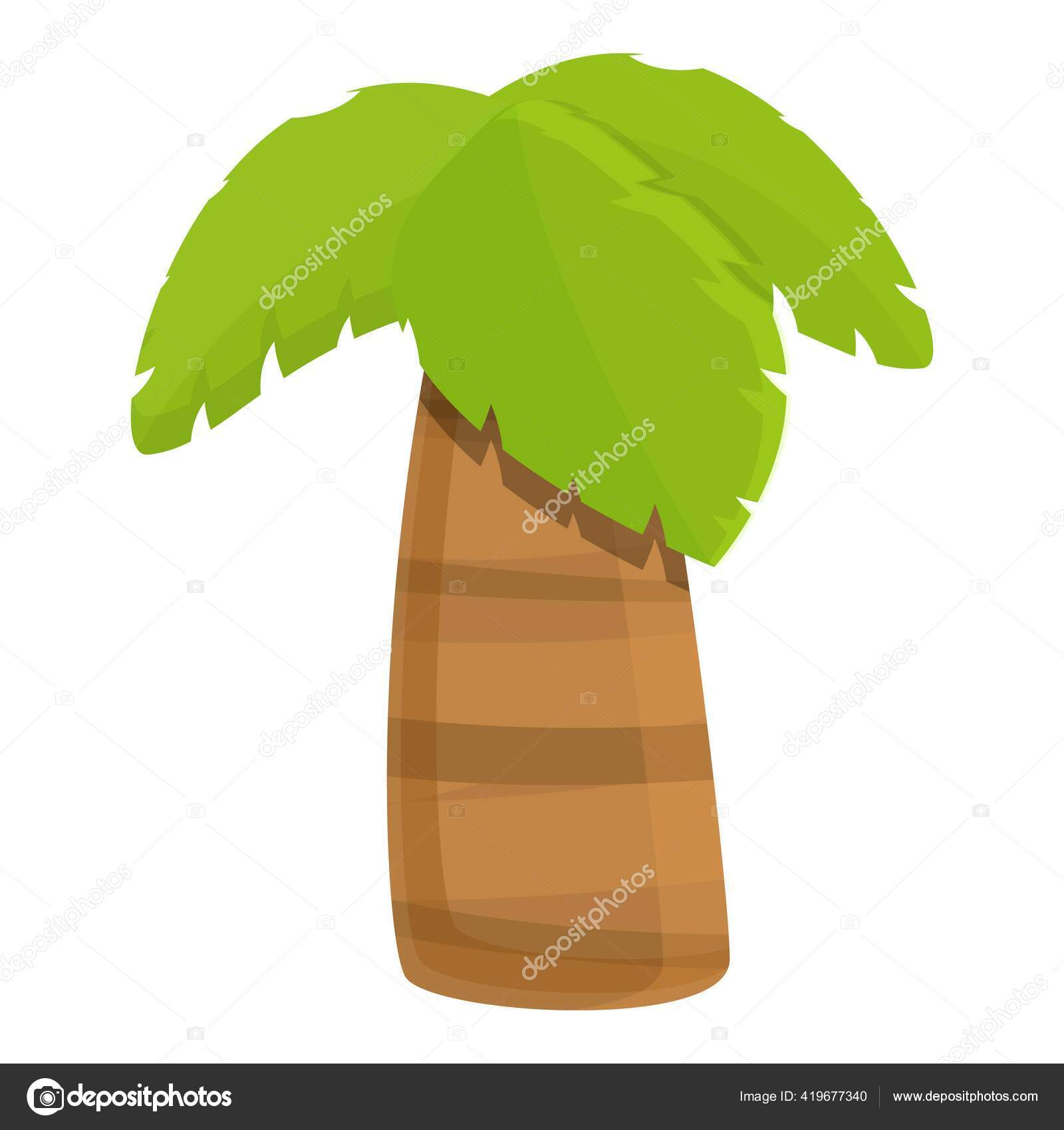 Thick Palm Tree Icon Cartoon Style Stock Vector C Nsit0108 419677340 Find & download free graphic resources for tree icon. https depositphotos com 419677340 stock illustration thick palm tree icon cartoon html