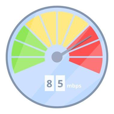 Internet speed business icon. Cartoon of internet speed business vector icon for web design isolated on white background icon