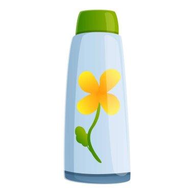 Celandine shampoo icon. Cartoon of celandine shampoo vector icon for web design isolated on white background icon