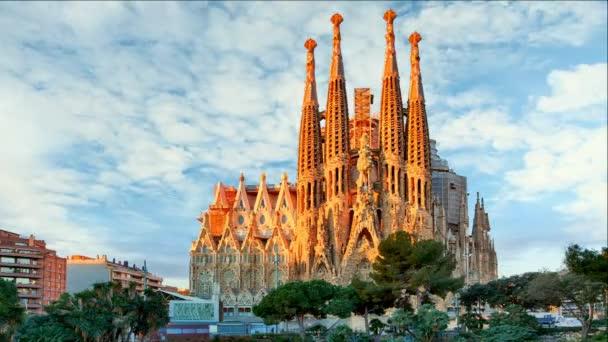 Sagrada Familia, časová prodleva - Barcelona