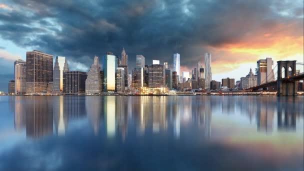 Panorama města New York