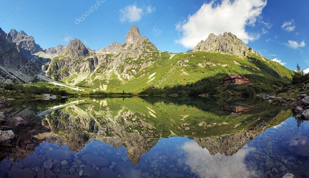 Green Lake in Tatra mountain