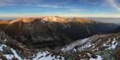 Photo Panoramic view of West Tatras