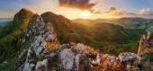 Hora Slovensko na jaře