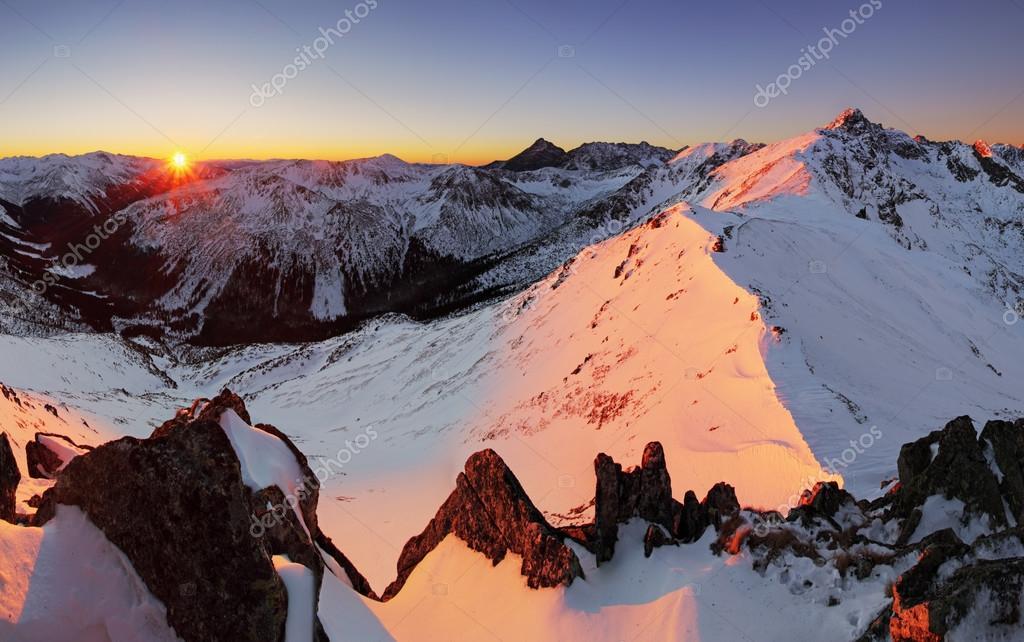 Tatras at winter