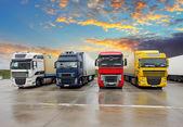 Fotografie LKW - Güterverkehr