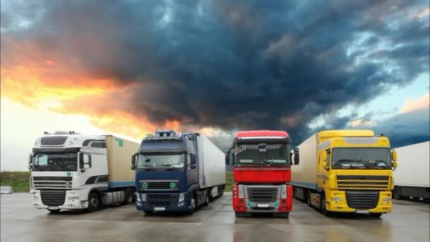 Vůz - nákladní doprava, časová prodleva
