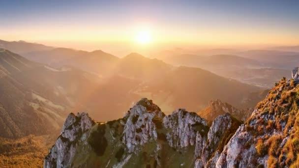 Pohyb - Slovensko vrchol hory Rozsutec