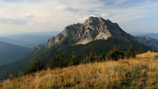 Slovenské hory Rozsutec - časová prodleva