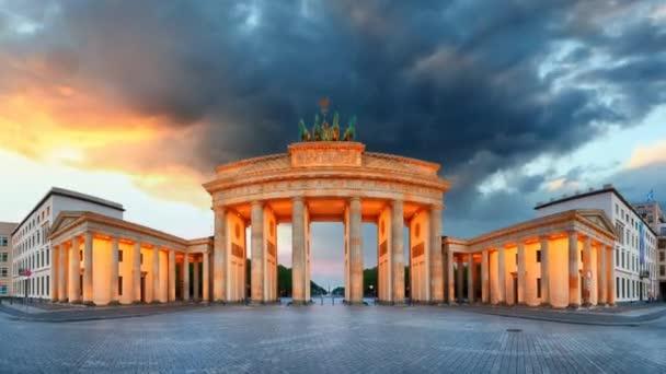 berlin - brandenburger tor, zeitraffer
