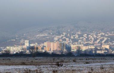 Residential district in Bratislava