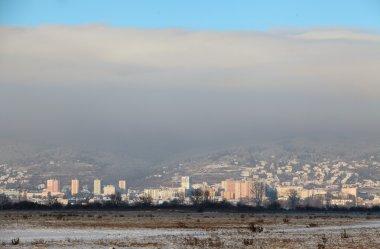 Bratislava at winter