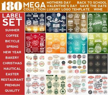 Mega Collection Label Set