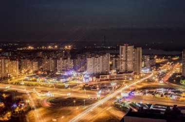 Night city Kiev