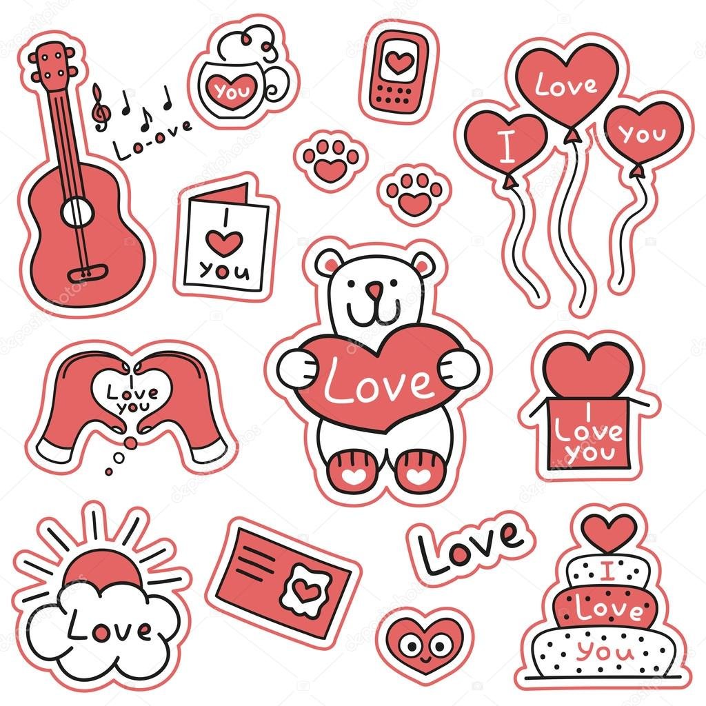 Stickers de Amor Emoticones para Whatsapp