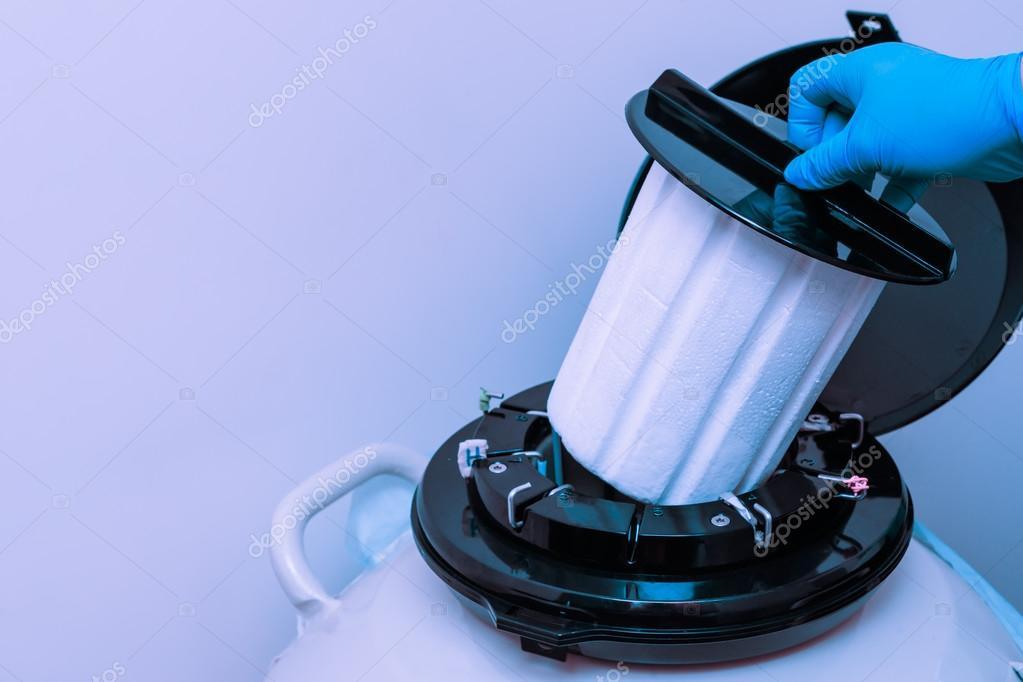 Жидкий азот для спермы