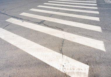 crosswalk on asphalt road