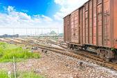 Fotografia Ferrovia o ferrovia tracce
