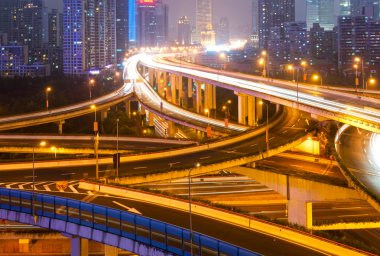 shanghai interchange overpass