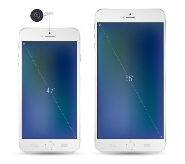 New Smartphone realistic mockup.