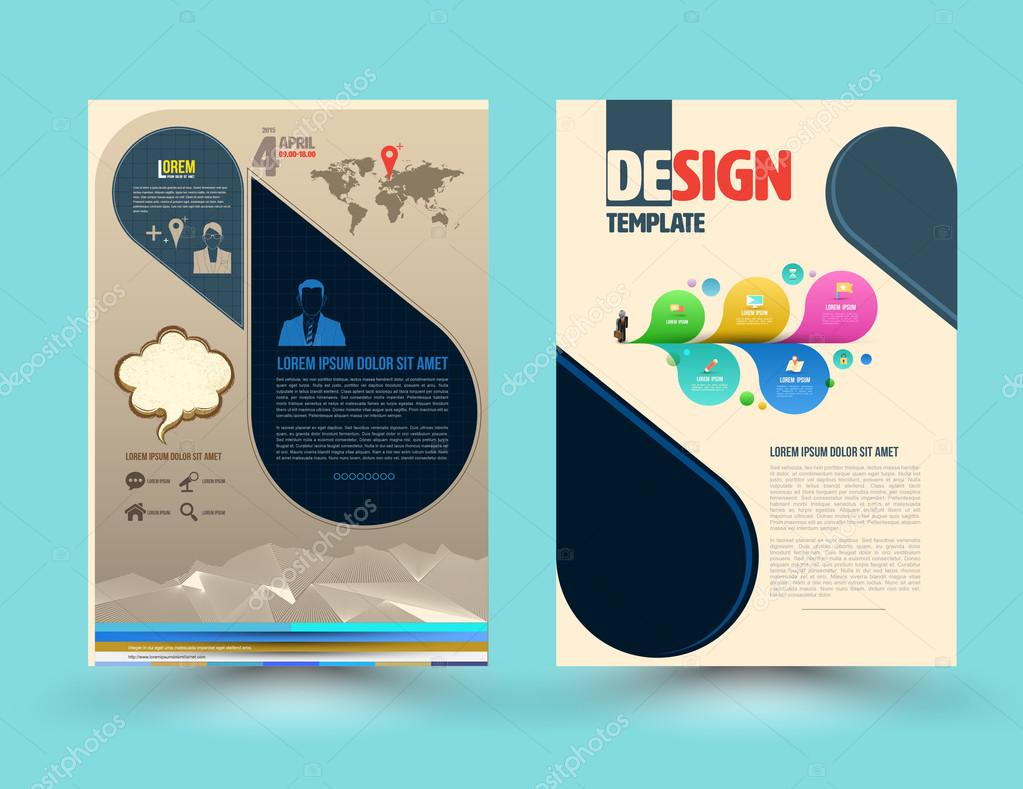 Brochure cover template