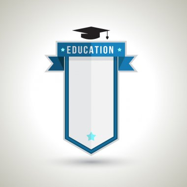 Education Badge Design for creating Study Plan