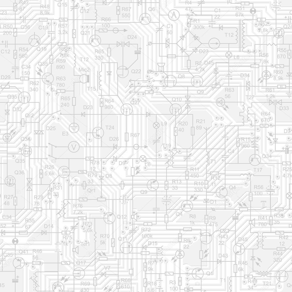 plano de fundo sem emenda do circuito el u00e9trico  u2014 vetor de stock  u00a9 vertyr  82071170