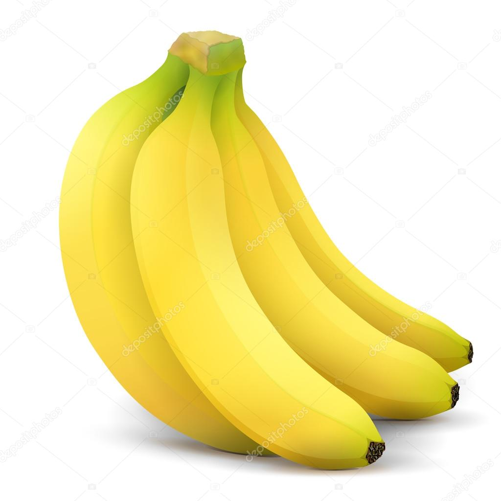 Banana fruit close up