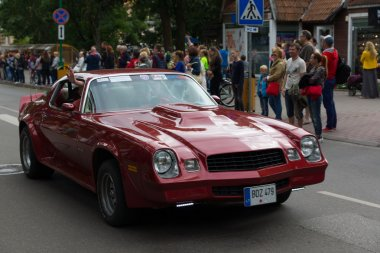 american spirit pearl rally 2015 in Palanga